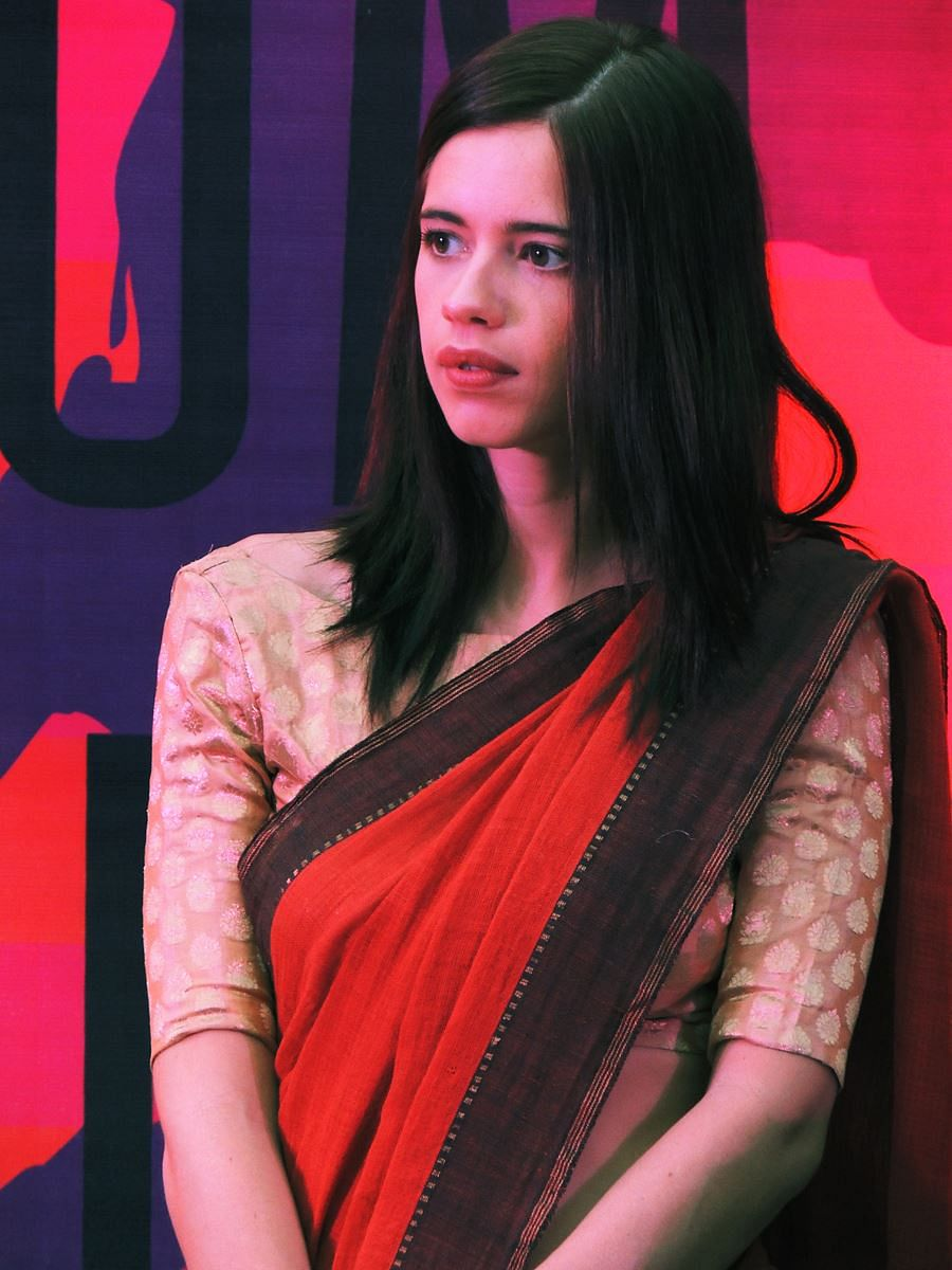 Kalki spoke at a conference addressingchild sexual abuse organised by actor Rahul Bose's NGO H.E.A.L. (Photo: Facebook/KalkiKoechlin)