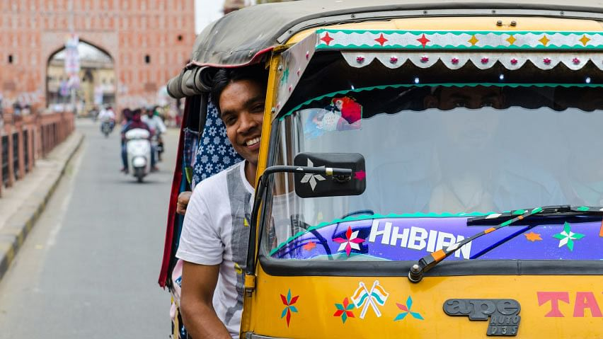 Developed by Apoorva Sharma, a Jaipur-based entrepreneur, 'ChalogeKya' allows you to easily hail an auto in the Pink City. (Photo: iStock)