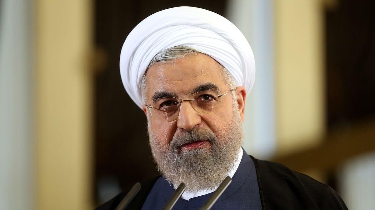 File photo of Iranian President Hassan Rouhani. (Photo: AP)