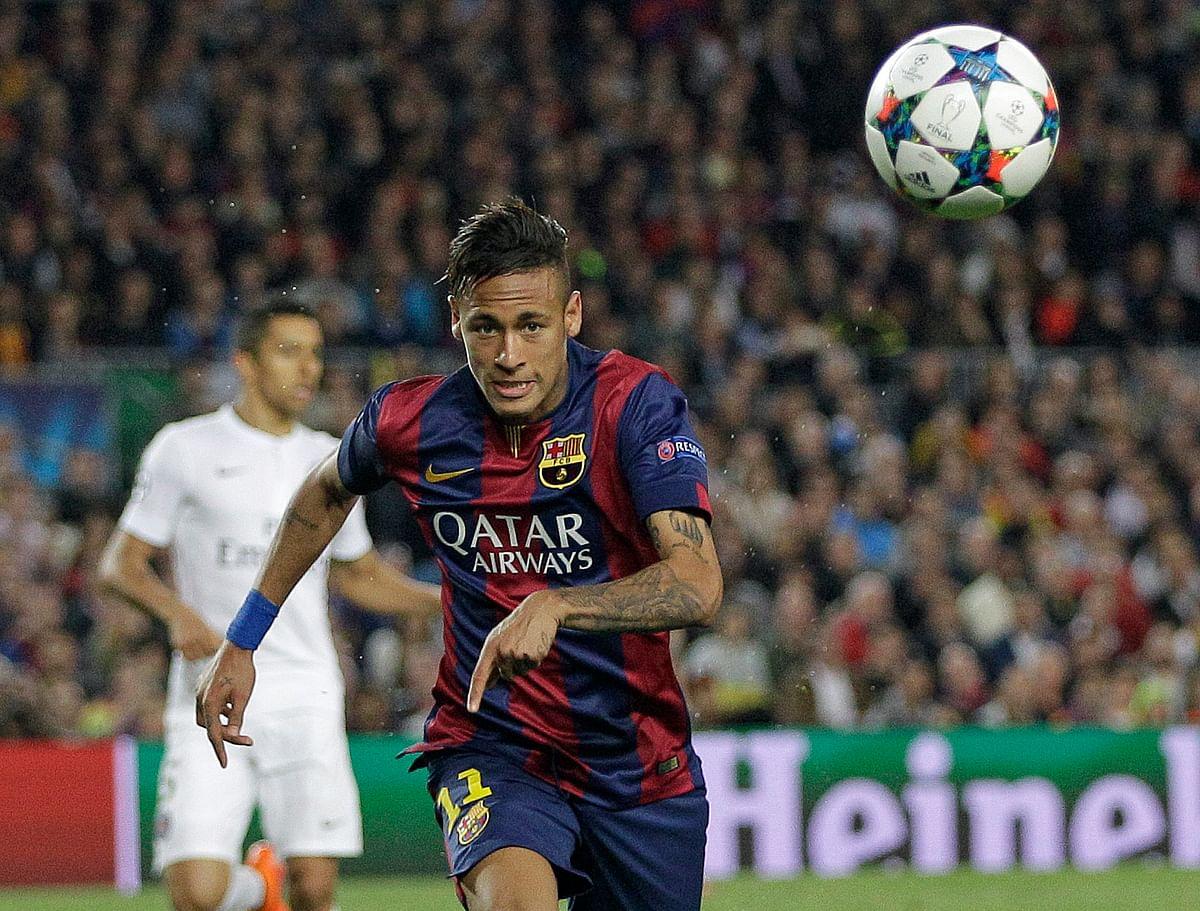 Champions League:Neymar Double Helps Brilliant Barcelona Down PSG