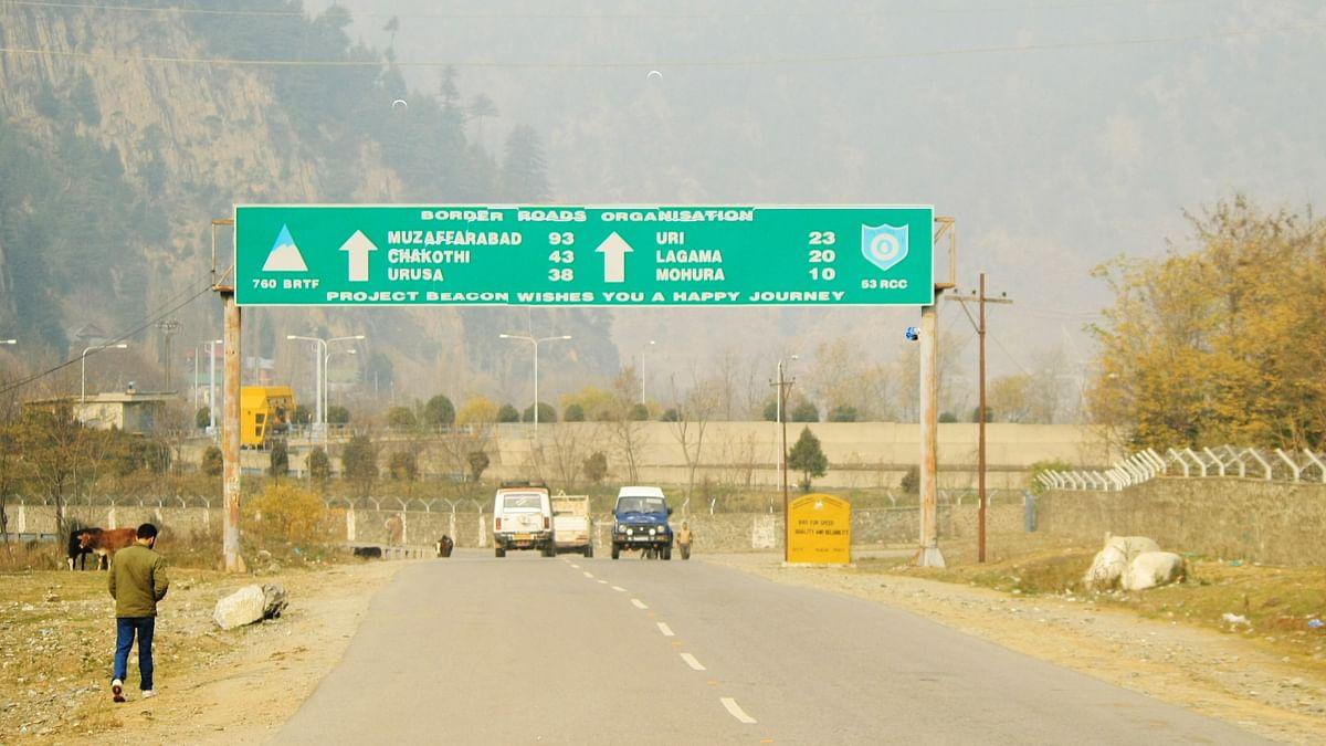 Srinagar-Muzaffarabad highway near Uri. Image used for representational purposes.(Photo: Aabid Shafi/<b>The Quint</b>)