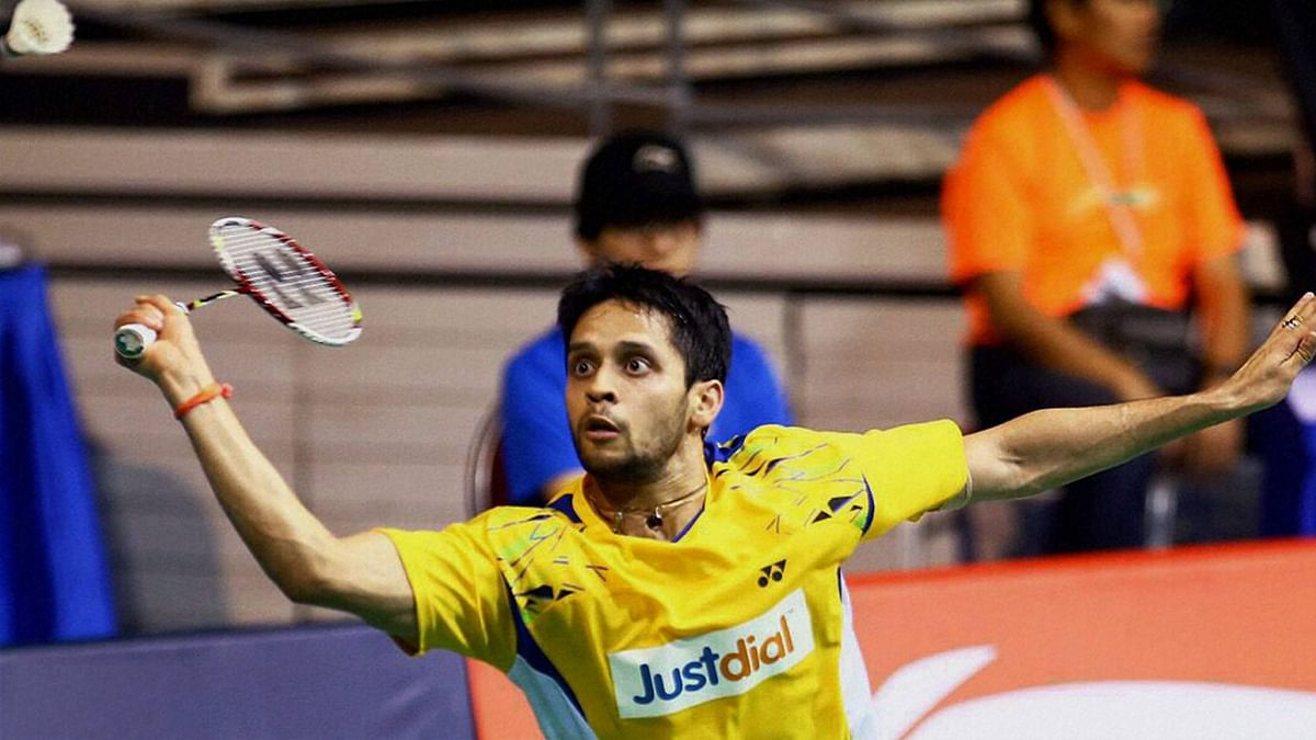 File picture of P Kashyap in action. (Photo: Reuters)