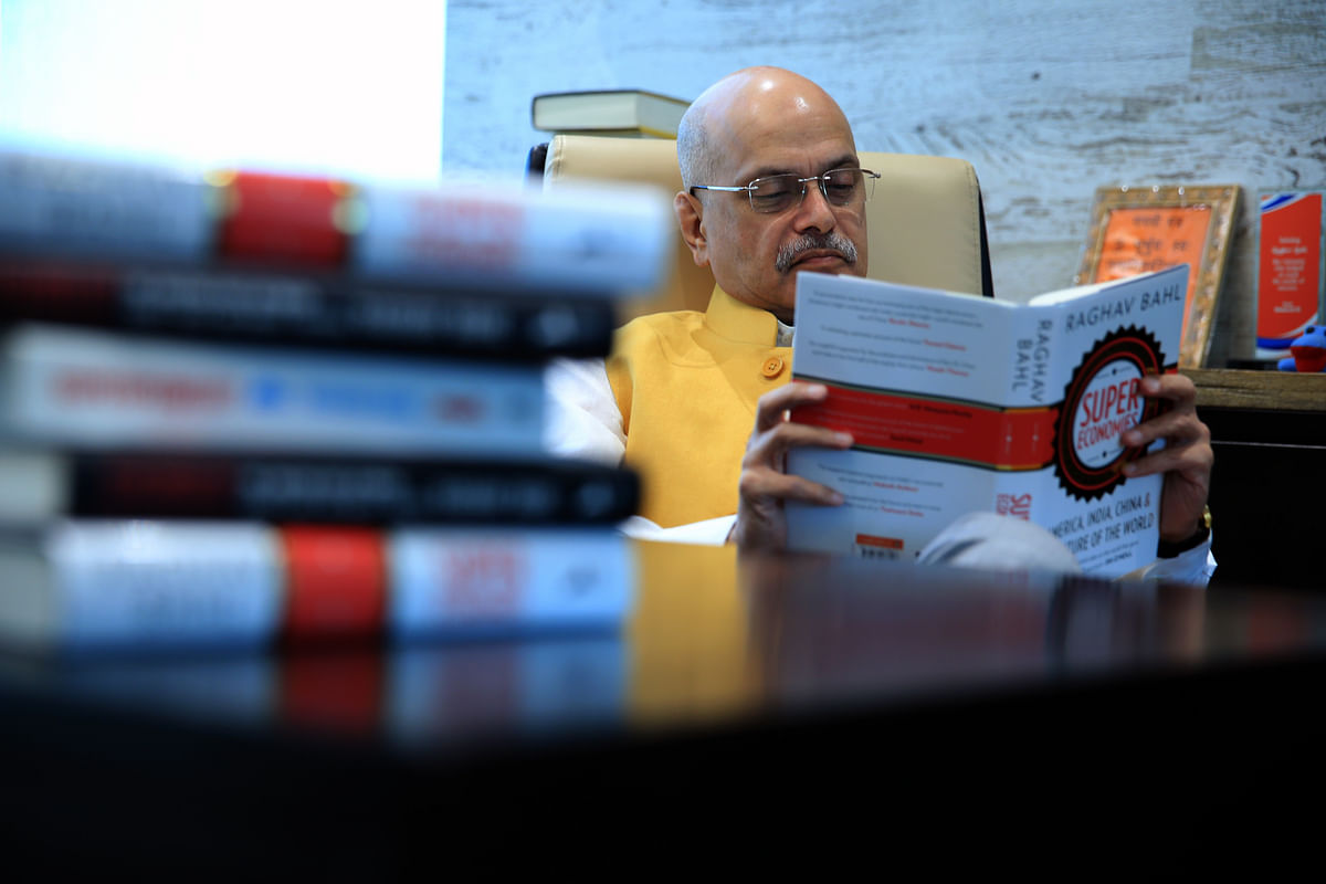 Raghav Bahl, Author SuperEconomies and Superpower