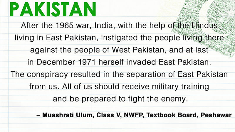 How History Books Differ in India and Pakistan
