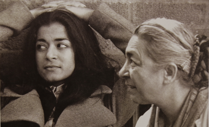 Kiran Sehgal (L) with her mother Zohra.