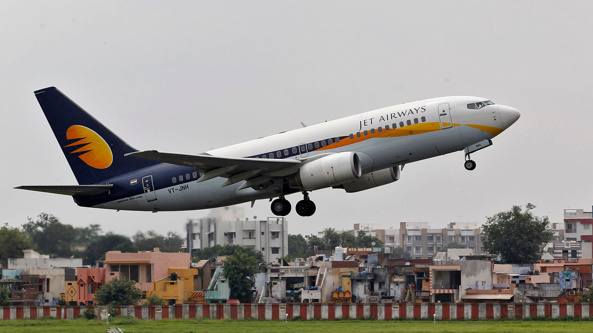 A Jet Airways passenger aircraft. Image used for representation.