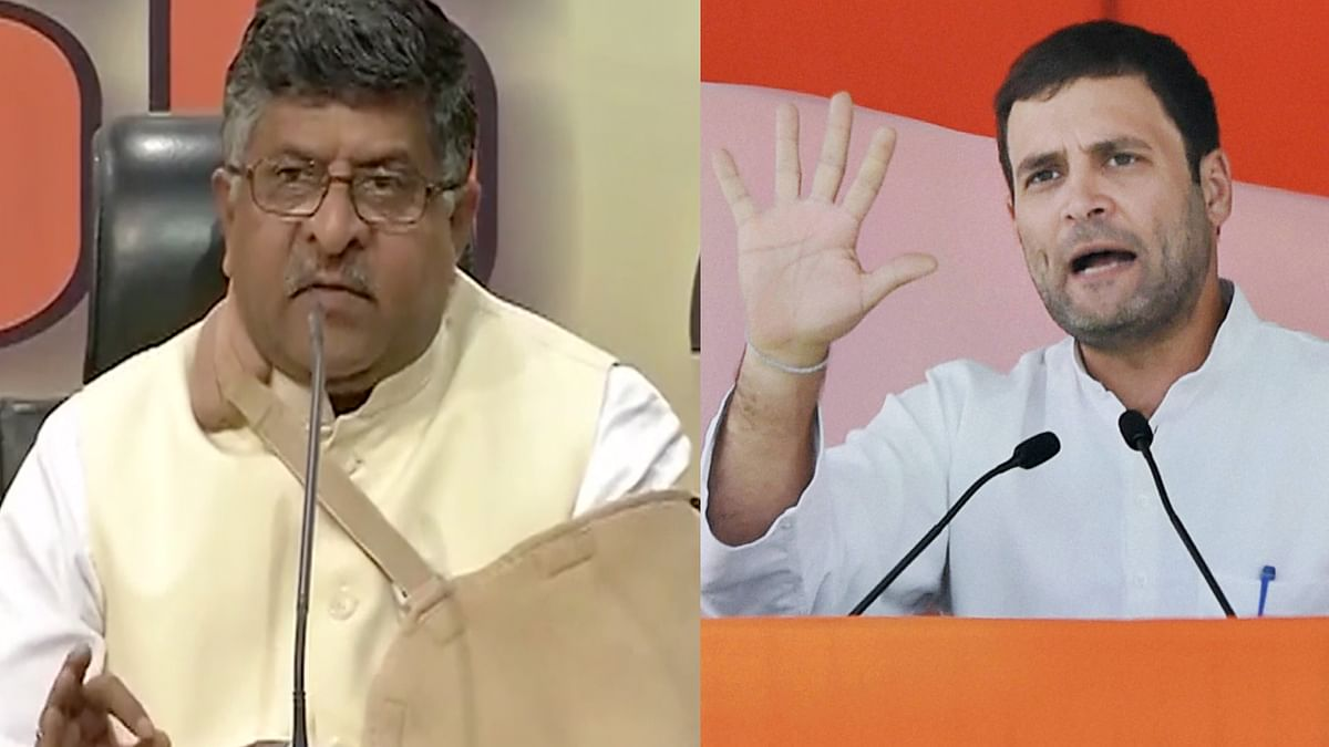 """Referring to the alleged gang-rape and death of a 19-year-old Dalit woman in UP's Hathras as """"unfortunate"""", Union Minister Ravi Shankar Prasad asked why Congress leaders Rahul and Priyanka Gandhi were not speaking about the alleged rape of two minors in Rajasthan's Baran."""