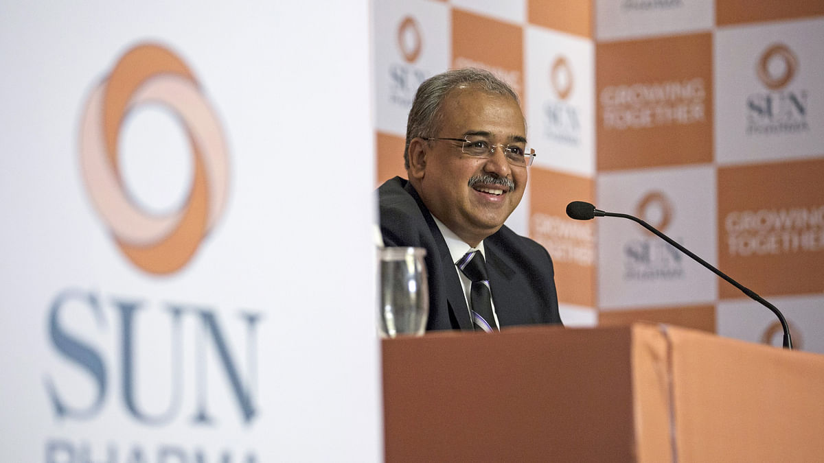 Managing Director of Sun Pharmaceutical Industries Ltd, Dilip Shanghvi, speaks during a news conference in Mumbai March 25, 2015.  (Photo: Reuters)