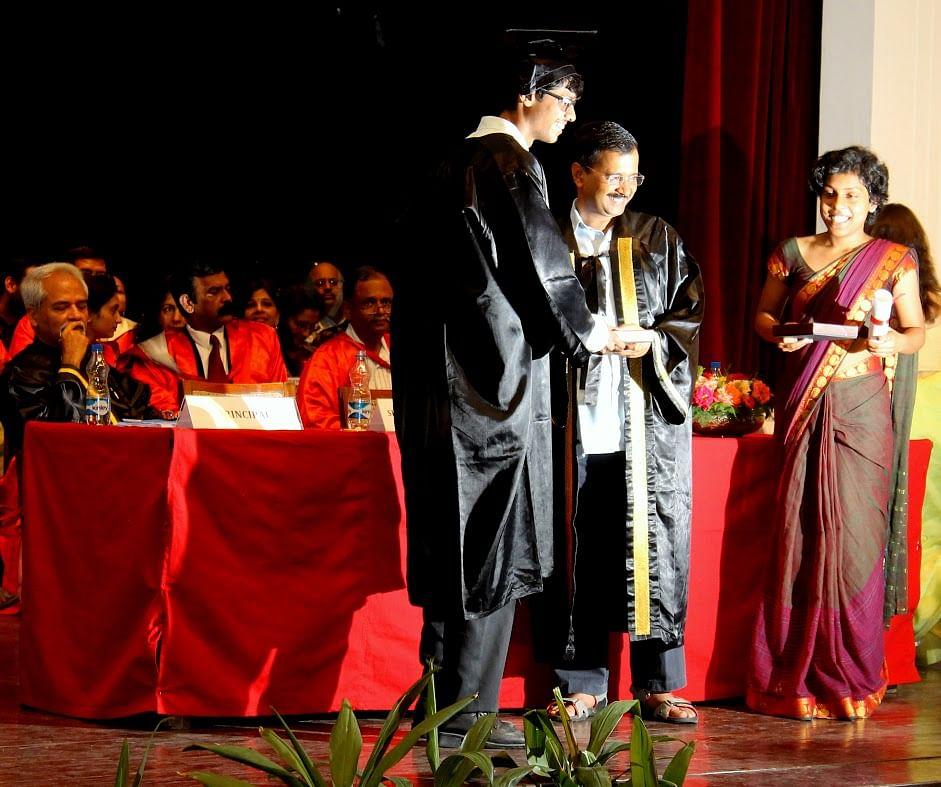 Devansh was denied the Rai Saheb Banarsi Das Memorial Prize, which he was to receive from Delhi CM Arvind Kejriwal.