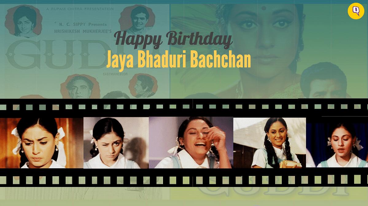 <i>Guddi</i> brought Jaya Bachchan face to face with Amitabh Bachchan.