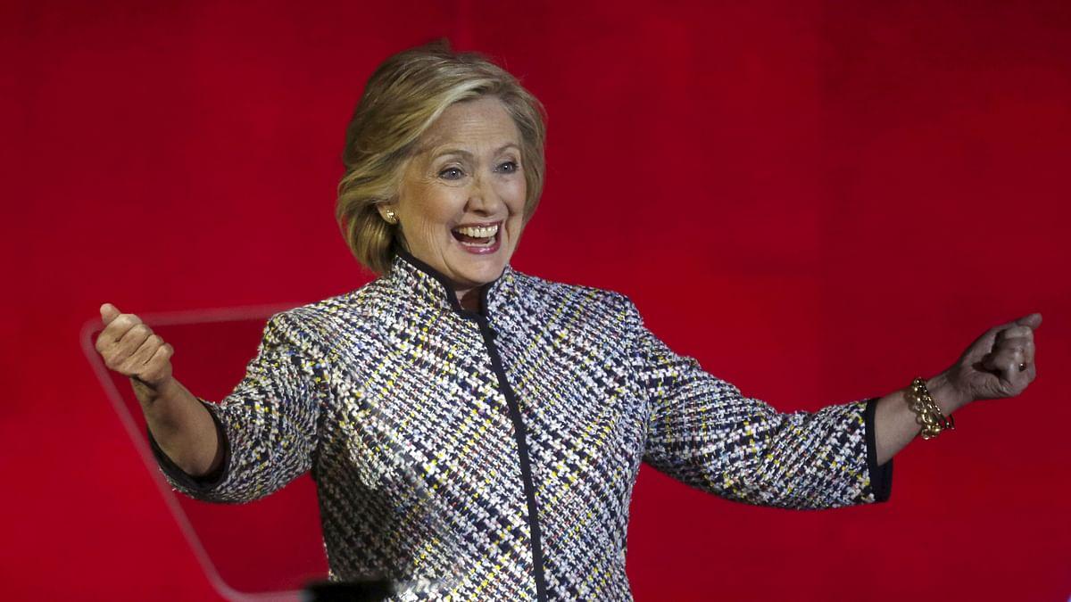 Democratic presidential candidate Hillary Clinton won inFlorida, Illinois, Ohio and North Carolina.  (Photo: Reuters)