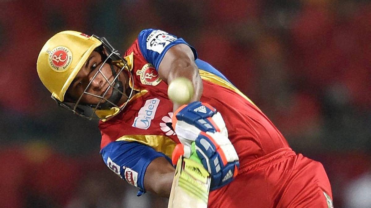 Royal Challengers Bangalore's batsman Sarfaraz Khan was injured during a practice match. (Photo: PTI/BCCI)