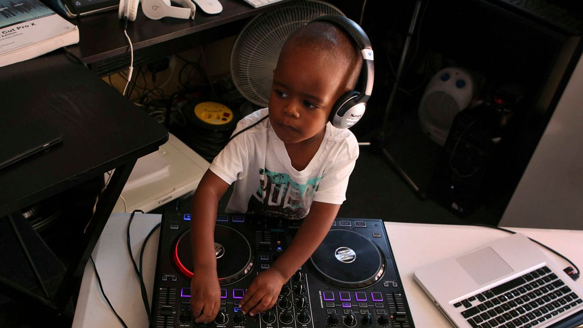 Meet the 2-Year-Old DJ Who's Rocking the Internet
