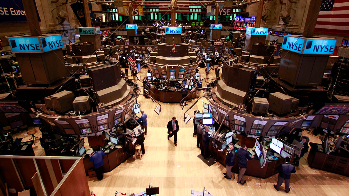 A trader walks on the floor of the New York Stock Exchange during the 20-minute 'flash crash' in 2010. (Photo: Reuters)