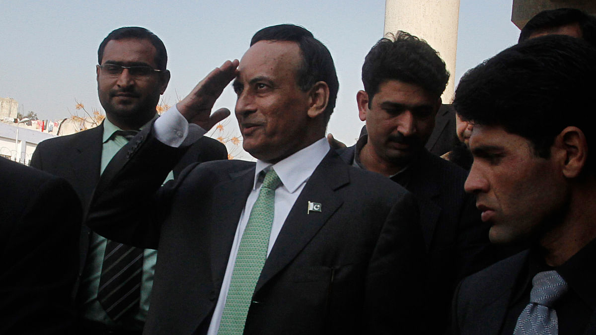 Former Pakistani ambassador to the US, Husain Haqqani. (Photo: Reuters)