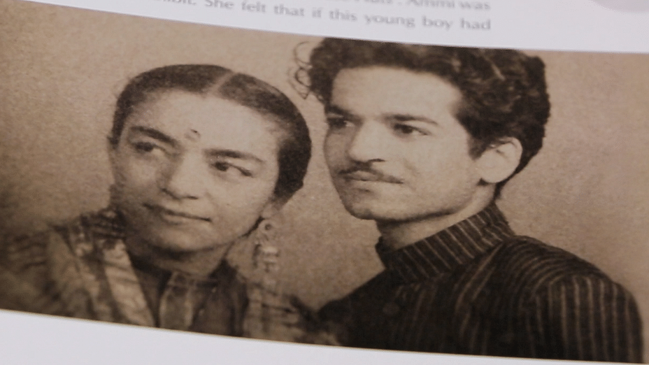 Zohra with her husband Kameshwar Sehgal, a scientist and a dancer who was eight years her junior.