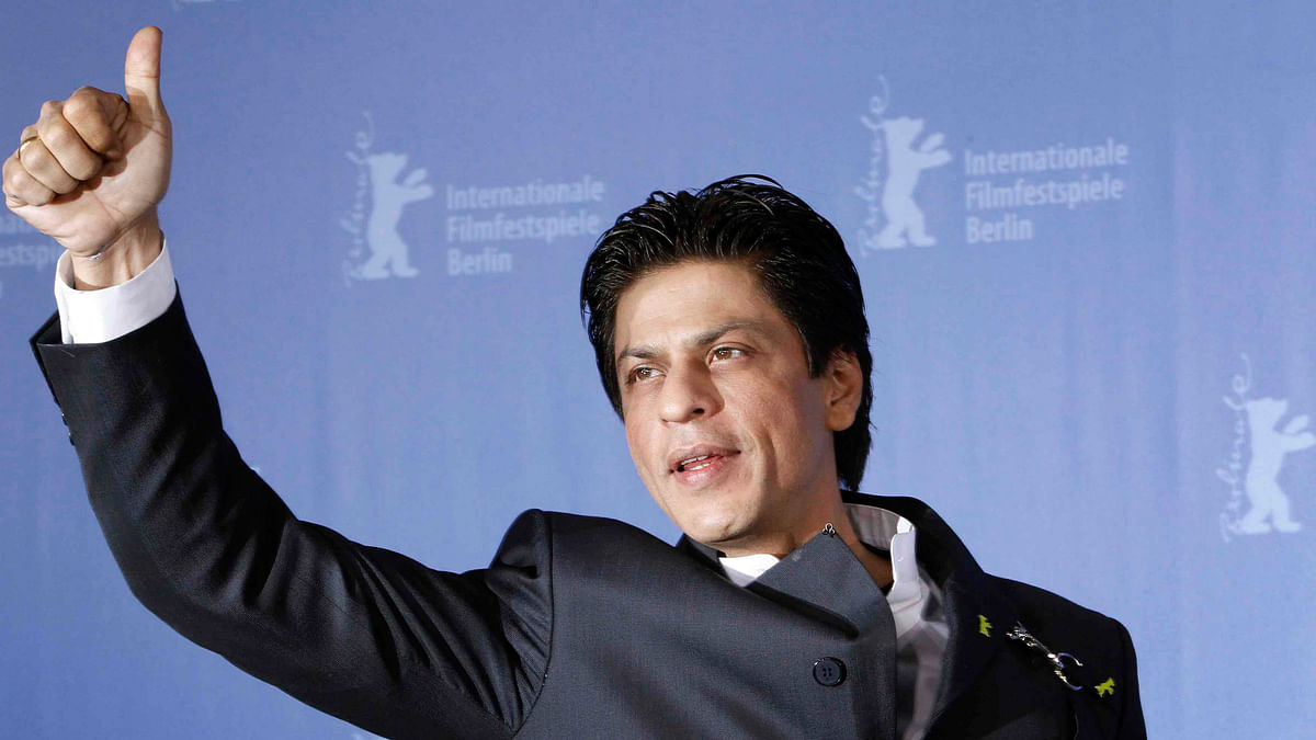 Shah Rukh Khan at an event.<i>&nbsp;(</i>Photo: Reuters)