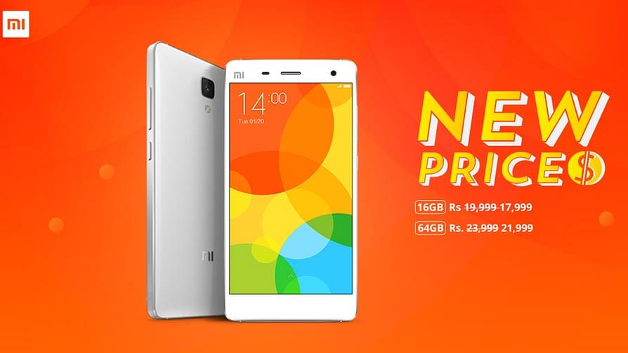 Xiaomi Drops the Price of Their Flagship SmartphoneMi4