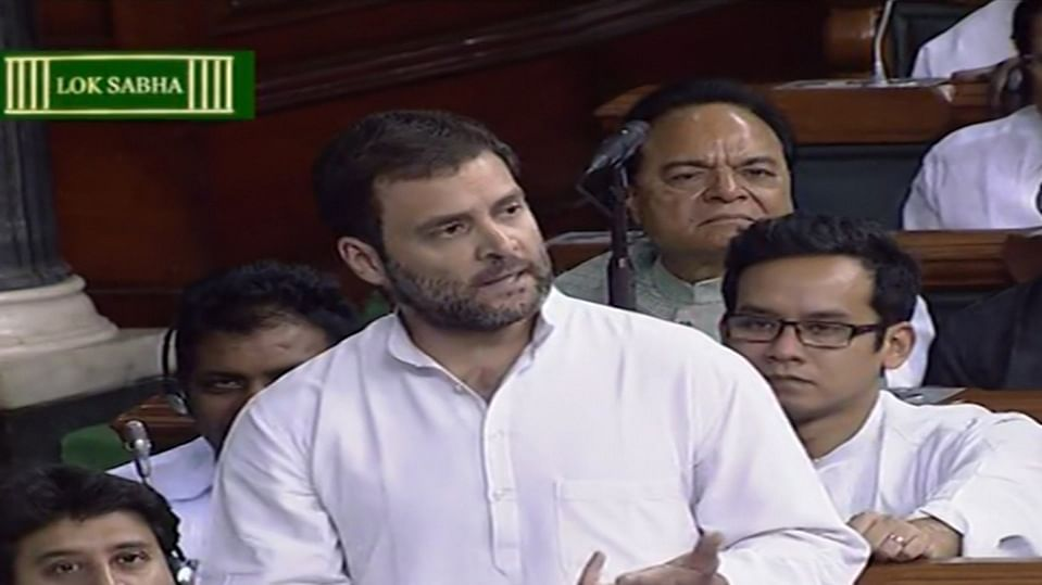 Rahul Gandhi Raises Issue of Bad Loans in Lok Sabha, Sparks Uproar