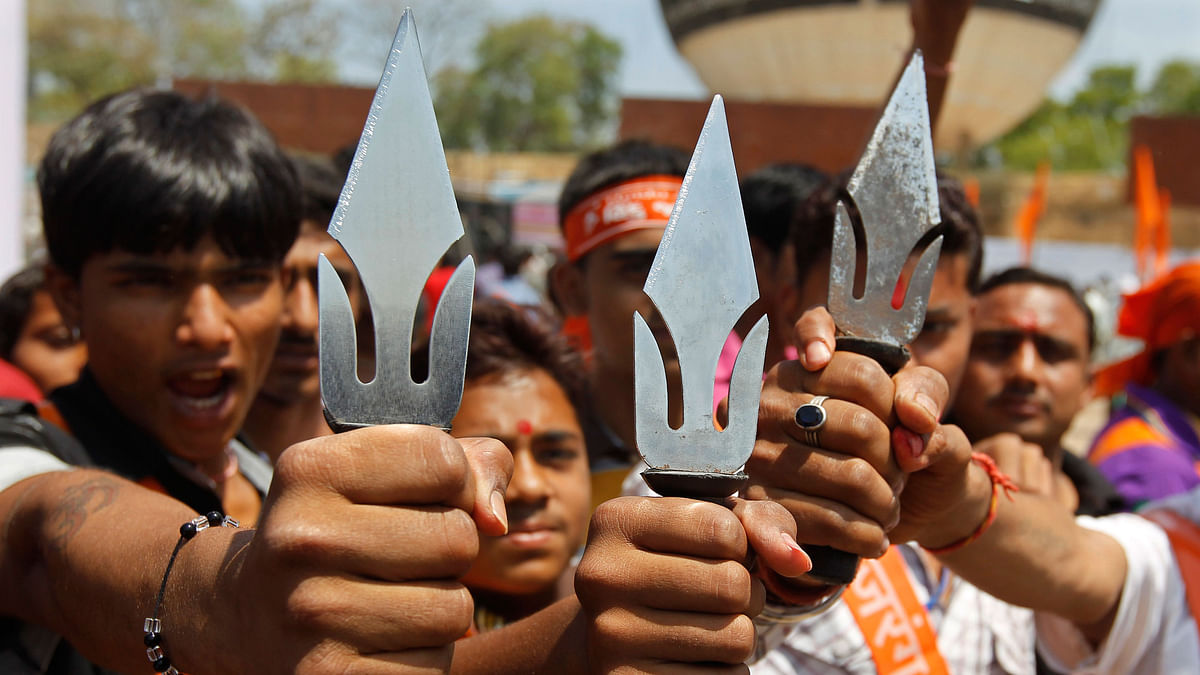 VHP supporters.(Photo: iStock)
