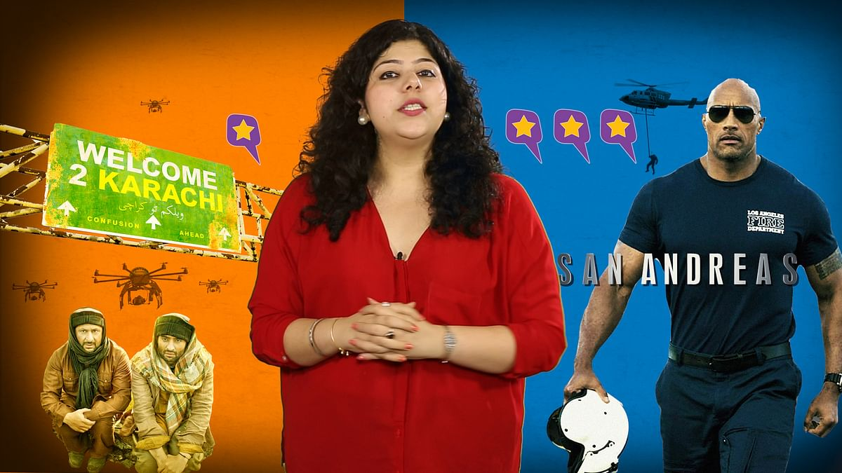 Watch the review of <i>San Andreas</i> and <i>Welcome to Karachi</i> in 'Q Dekhein?'