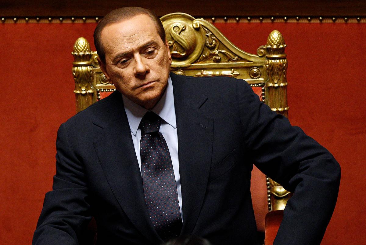 File photo of Silvio Berlusconi. (Photo: Reuters)