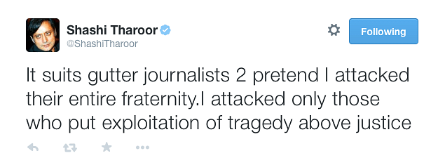 'Scum & Liars': Could Shashi Tharoor be Right About the Media?