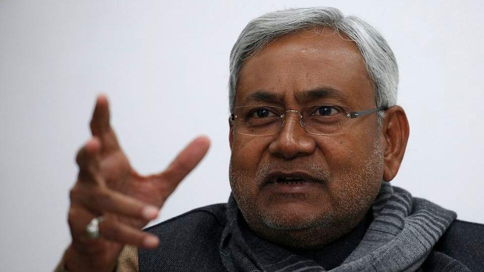 Nitish Kumar.