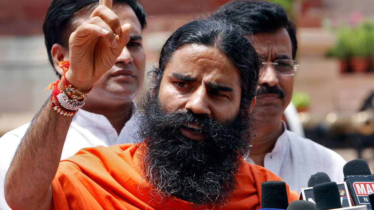 Yoga guru Baba Ramdev asks Prime Minister to be in attack mode with respect to Pakistan. (Photo: Reuters)