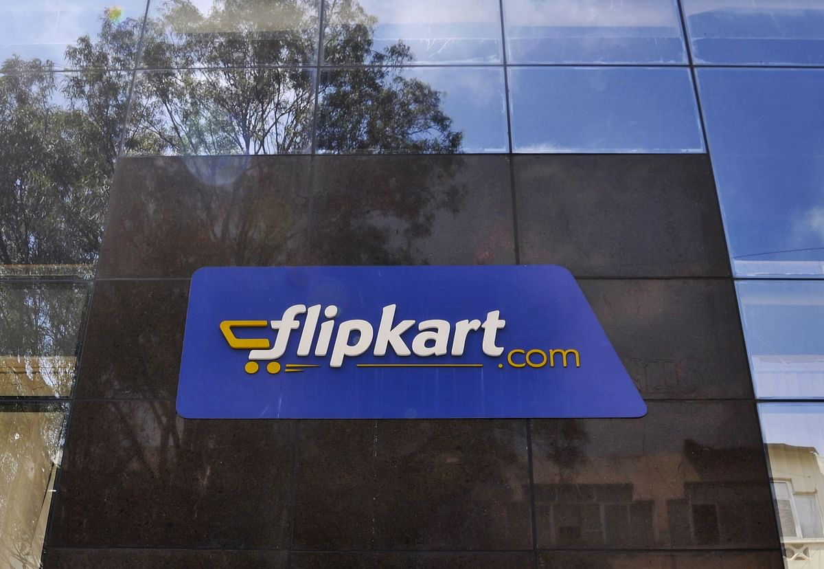 The logo of India's largest online marketplace Flipkart is seen on a building in Bengaluru, India.( Photo: Reuters)