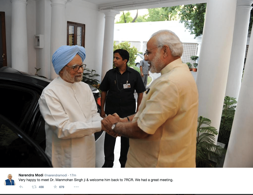 Was Manmohan Singh Nostalgic? Modi Welcomes Former PM to 7 RCR
