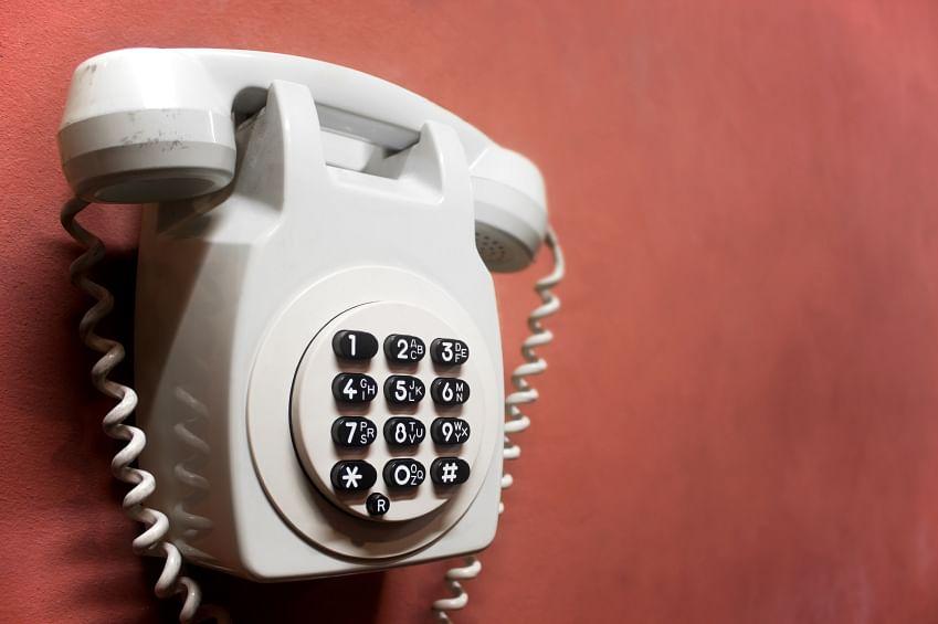 Aretro wallphone. (Photo: iStockphoto)