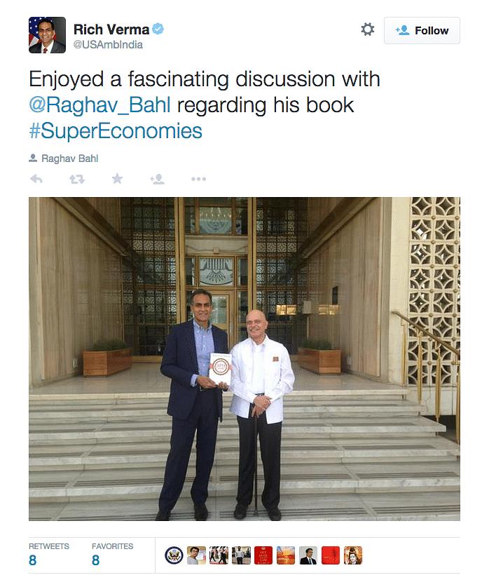 A Rendezvous with Ambassador Richard Verma on #SuperEconomies