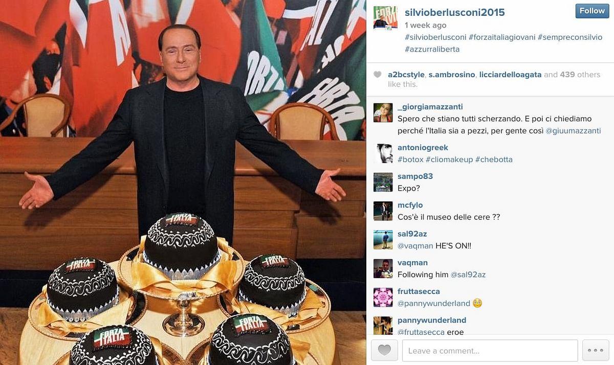 """(Photo: <a href=""""https://instagram.com/silvioberlusconi2015/"""">Instagram/silvioberlusconi2015</a>)"""