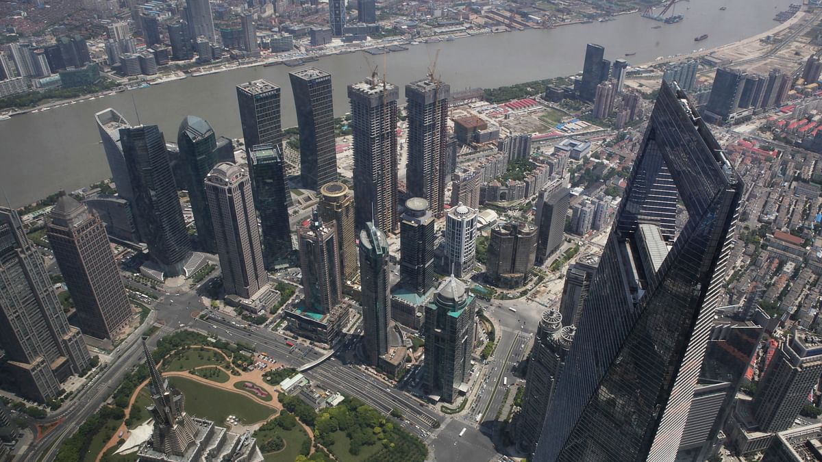 <!--StartFragment-->Highrise buildings of Shanghai's financial district of Pudon. (Photo: AP)<!--EndFragment-->