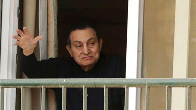 <!--StartFragment-->Former Egyptian President Hosni Mubarak. (Photo: AP)<!--EndFragment-->