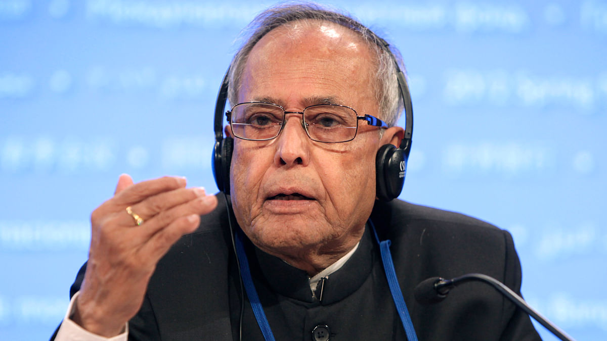President Pranab Mukherjee gave his assent  to the constitution amendment bill. (Photo: Reuters)