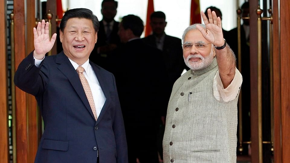 File photo of Prime Minister Narendra Modi (right) and Chinese President Xi Jinping.