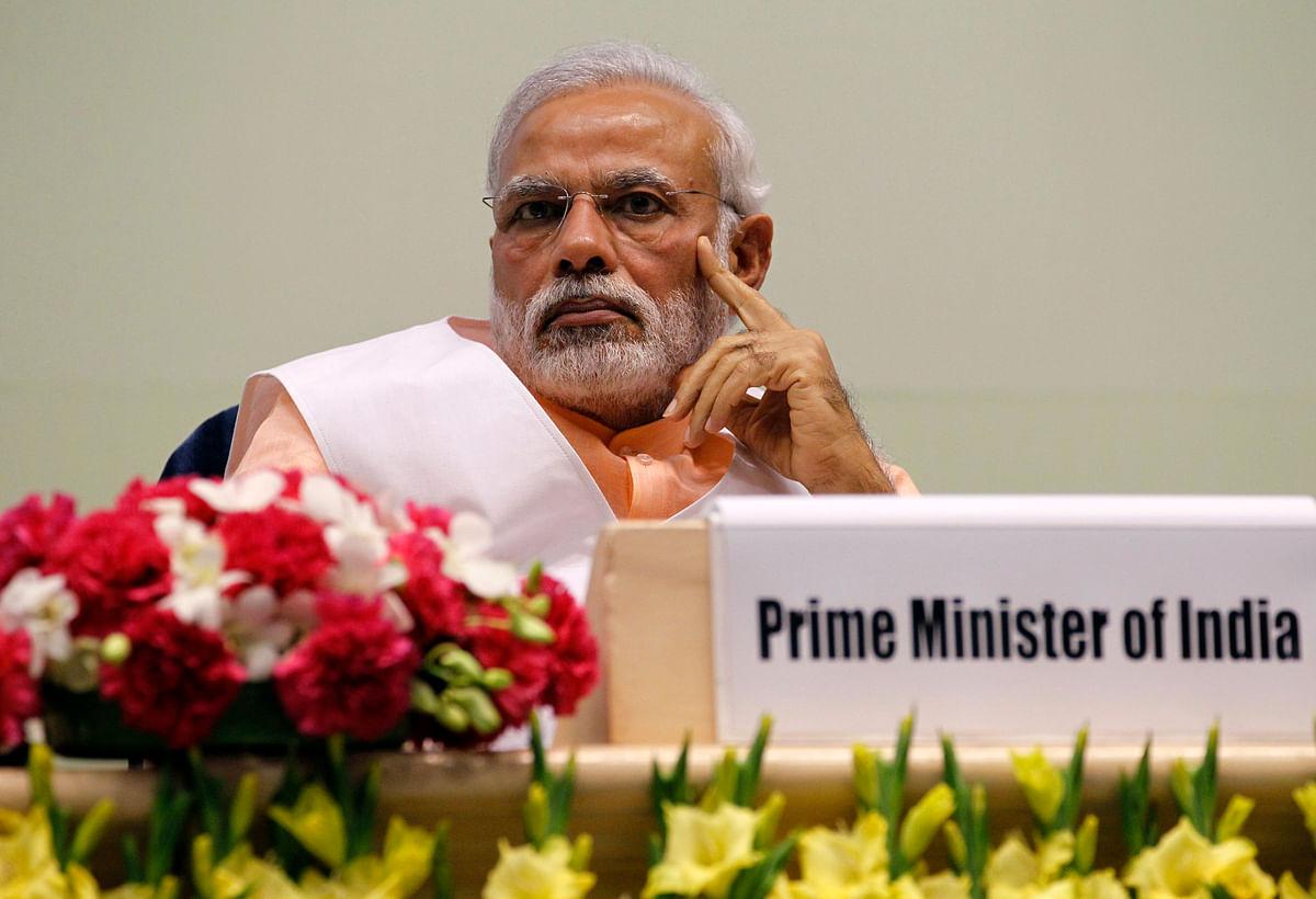 Prime Minister Narendra Modi at an event. (Photo: Reuters)