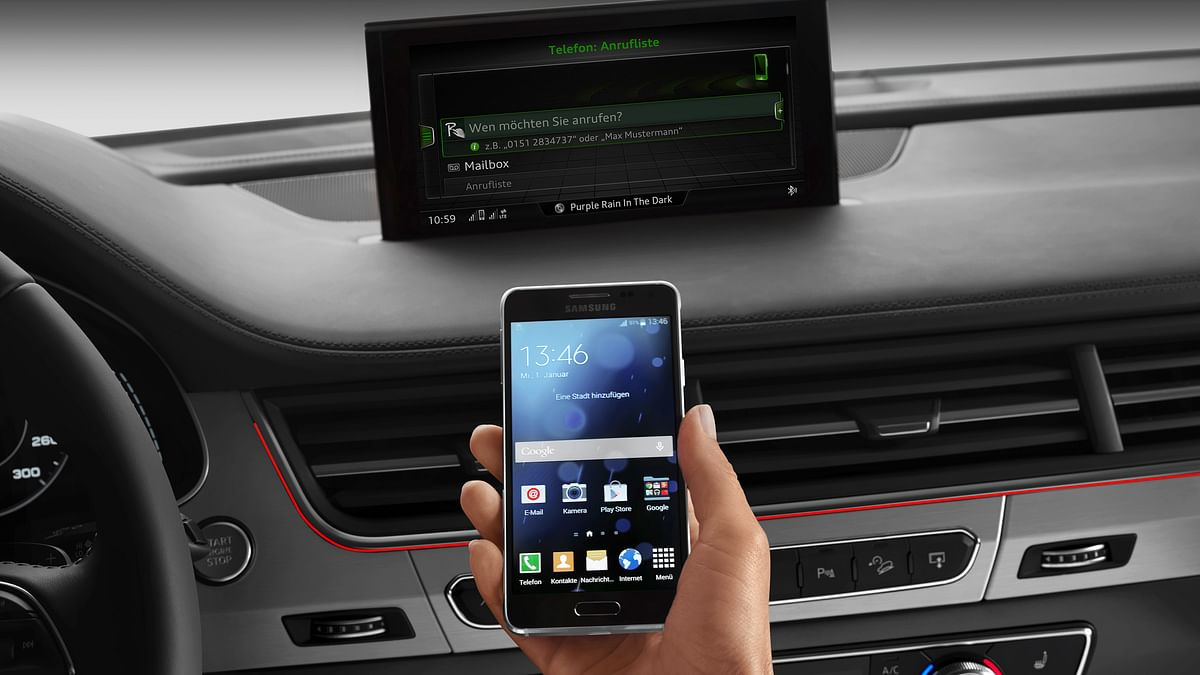 Connected Cars are the future (Photo: Audi)