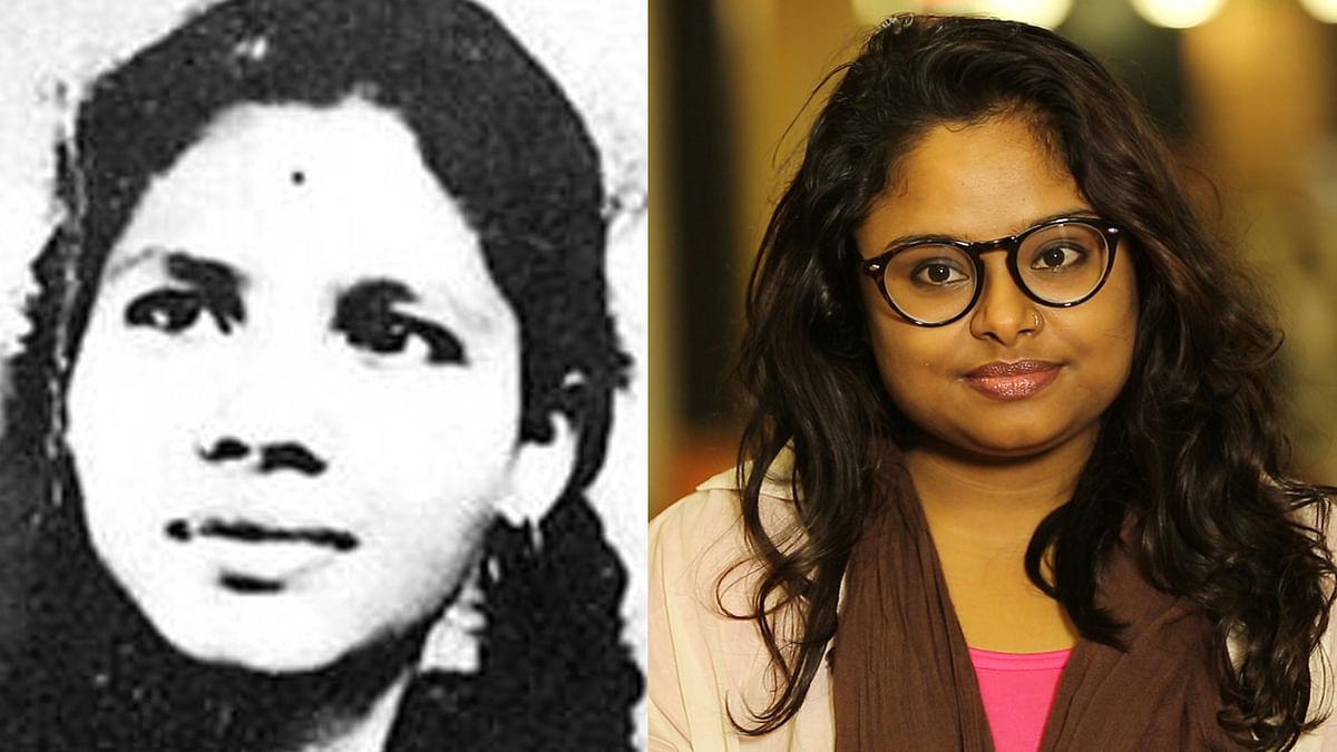 Aruna Shanbaug (Left) and Prerna Pratham Singh.