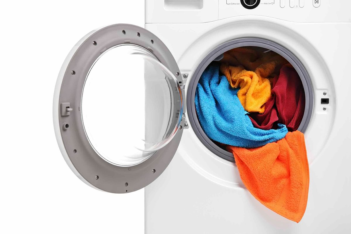 And while you're at it: go ahead andwash your sheets, towels, and bathroom rugs too(Photo: iStock)