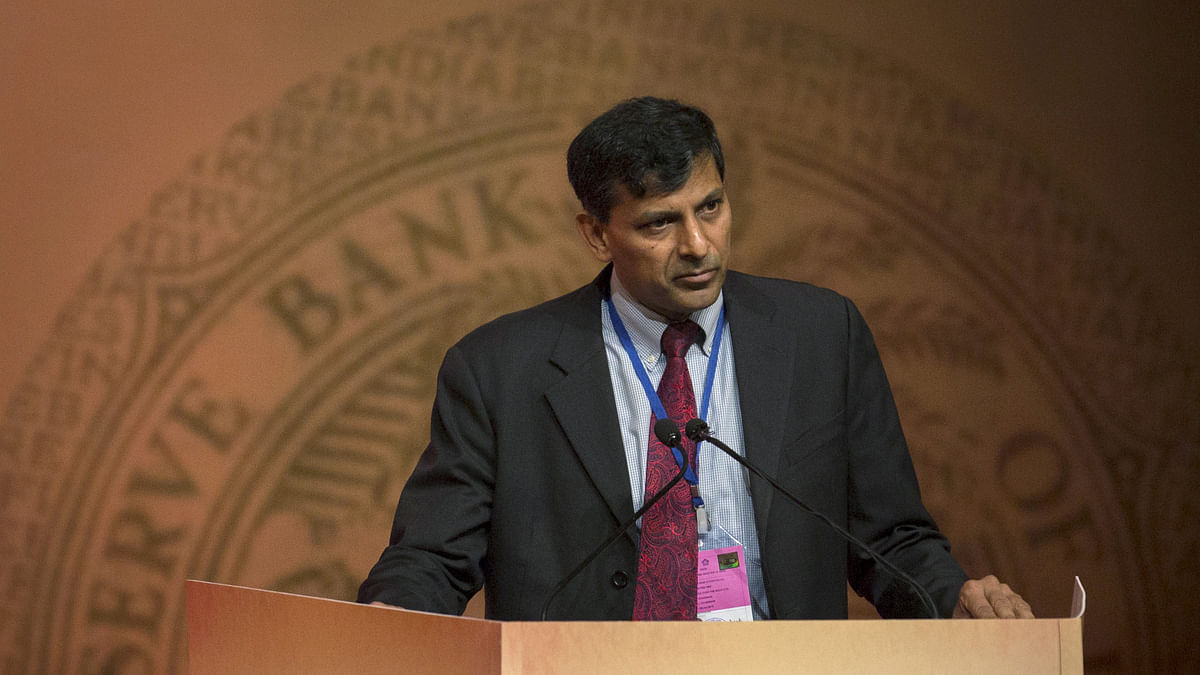 India's RBI Governor Raghuram Rajan.