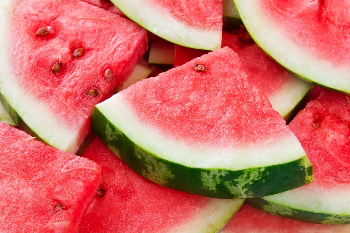 Watermelon is made up 92% of water. (Photo: iStock)