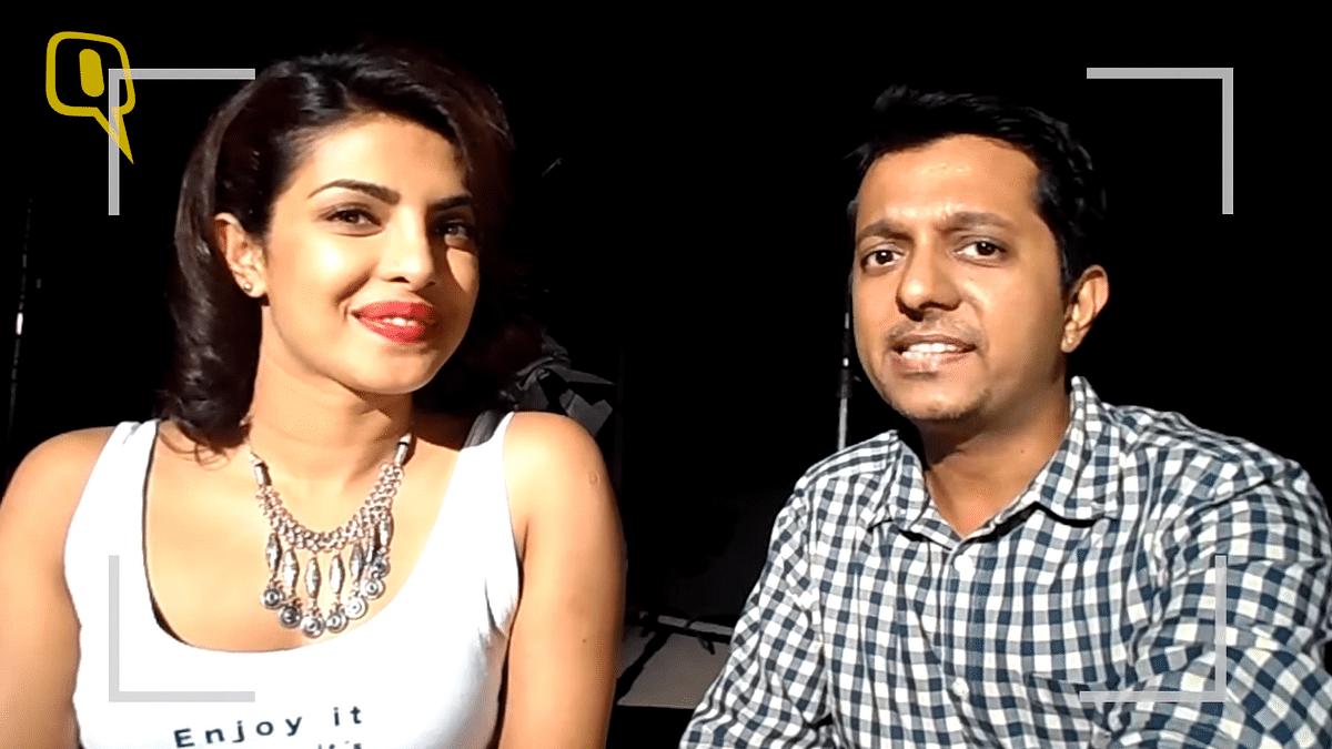Priyanka Chopra's selfie interview with Rohit Khilnani