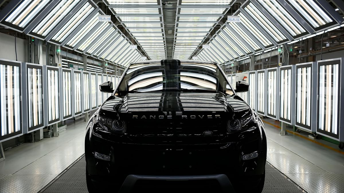 <!--StartFragment-->A Land Rover Evoque car is seen on the production line inside the Chery Jaguar Land Rover plant  in Changshu, China<!--EndFragment-->