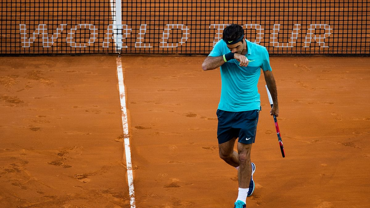Federer lost to the world number 35 in the second round of the Madrid Open. (Photo: AP)