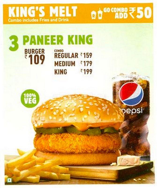 (Photo Courtesy: zomato.com/burger-king)