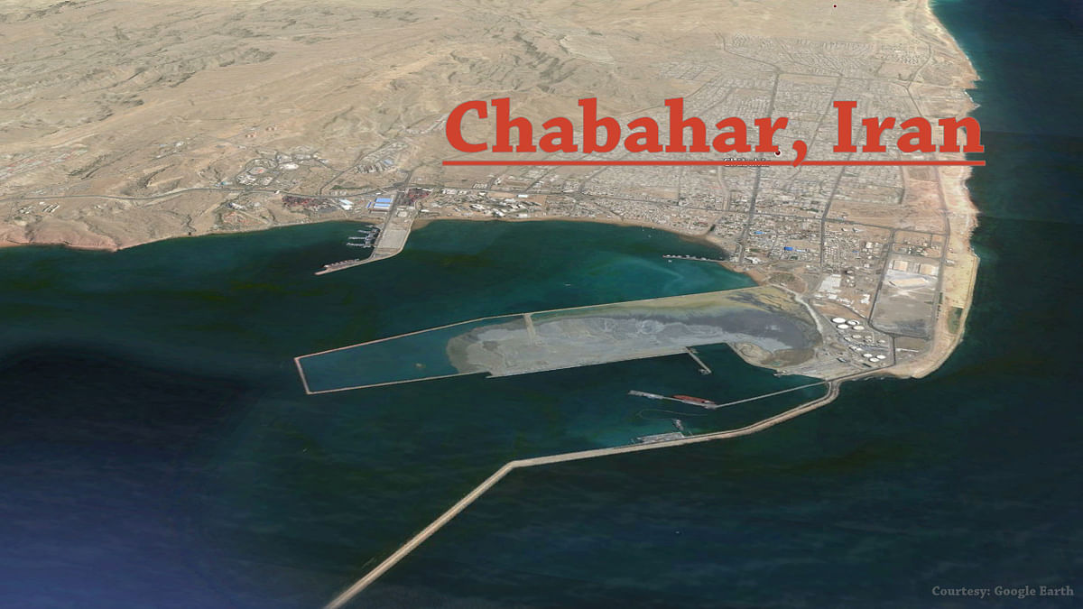 The government of India on Thursday said it has decided to expedite investments in Chabahar Free Zone. (Photo Courtesy: Google Earth)