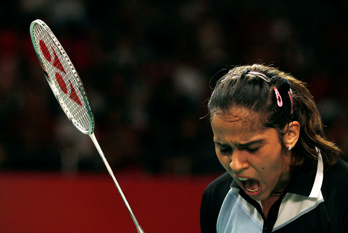 File picture of Saina Nehwal. (Photo: AP)